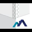 Alumínium élvédő STD PLUSZ 0,30x23x23mm 2,5fm