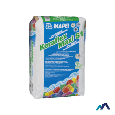 Mapei Keraflex Maxi S1 Kerámiaburkolat ragasztó C2TE szürke 25 kg