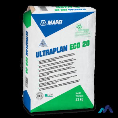Mapei Ultraplan Eco 20 Önterülő aljzatkiegyenlítő simítóhabarcs 1-10 mm 23 kg