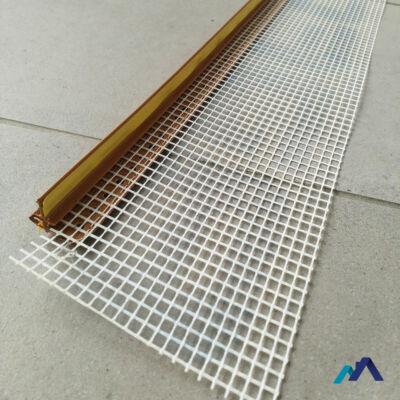 ablakcsatlakozó profil hálós aranytölgy