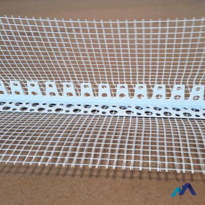 ívre hajlítható hálós élvédő