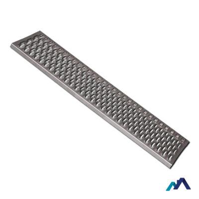 Tető biztonsági lépcső galvanizált 1000x250 mm