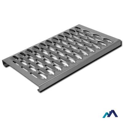 Tető biztonsági lépcső galvanizált 800x250 mm